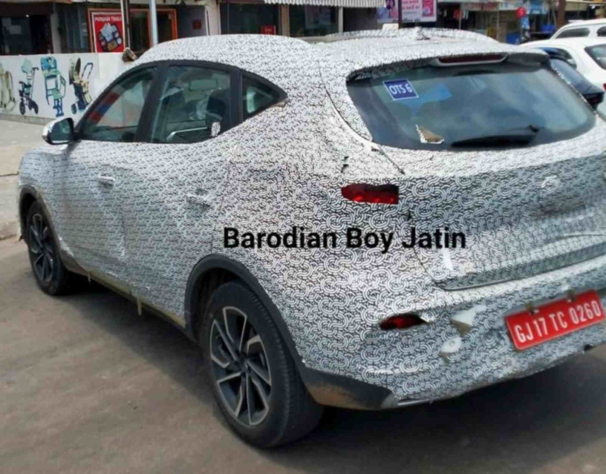 MG ZS Astor spied (1)