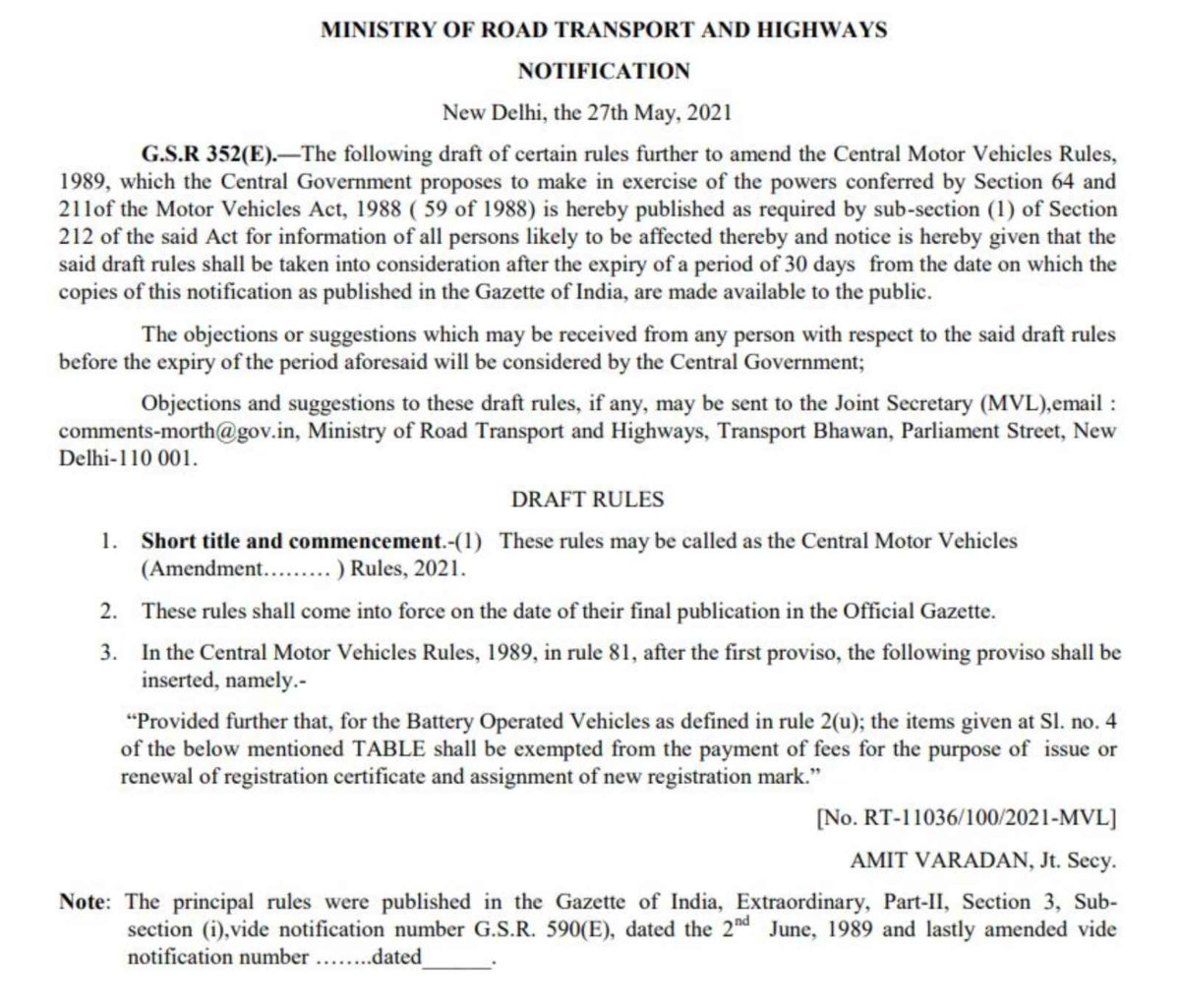 MoRTH_Notification for EVs (1)