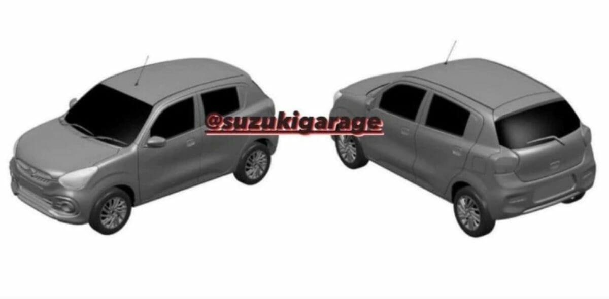 Next gen Maruti Suzuki Celerio patent renderings