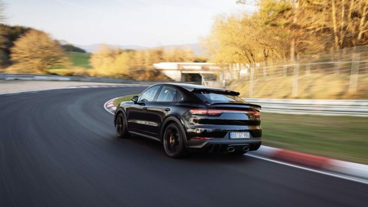 Porsche Cayenne Nurburgring