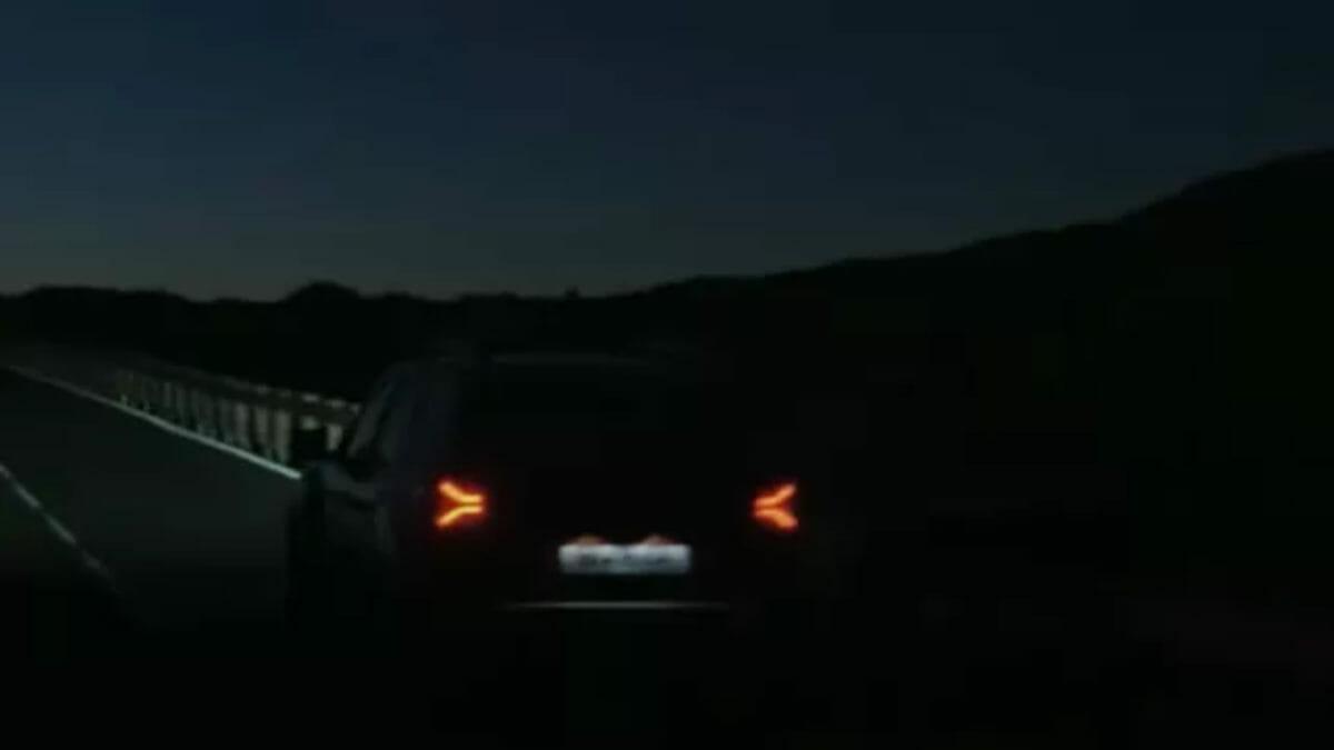 Renault Duster facelift spied