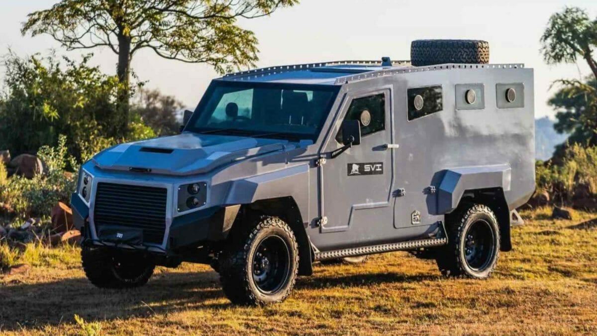 SVI Max 3 Troopy Armoured Toyota Land Cruiser (1)