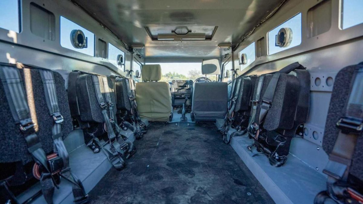 SVI Max 3 Troopy Armoured Toyota Land Cruiser (3)