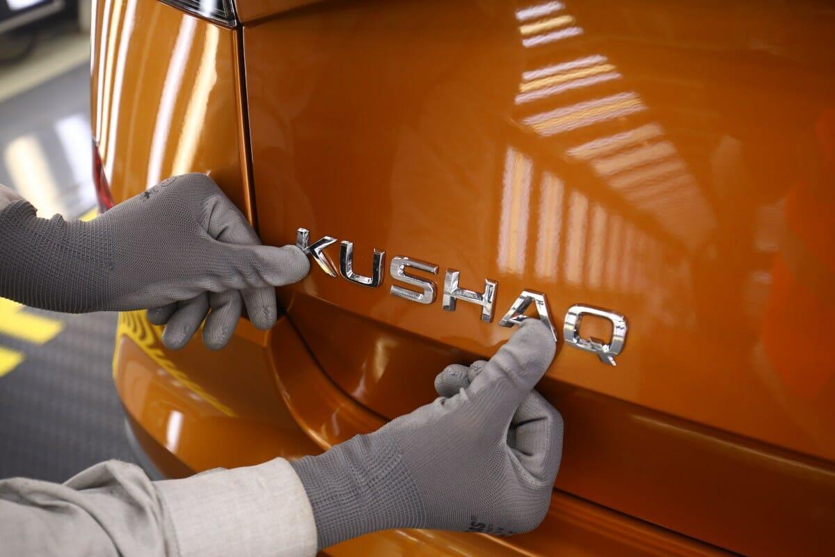 Skoda Kushaq production commences (1)