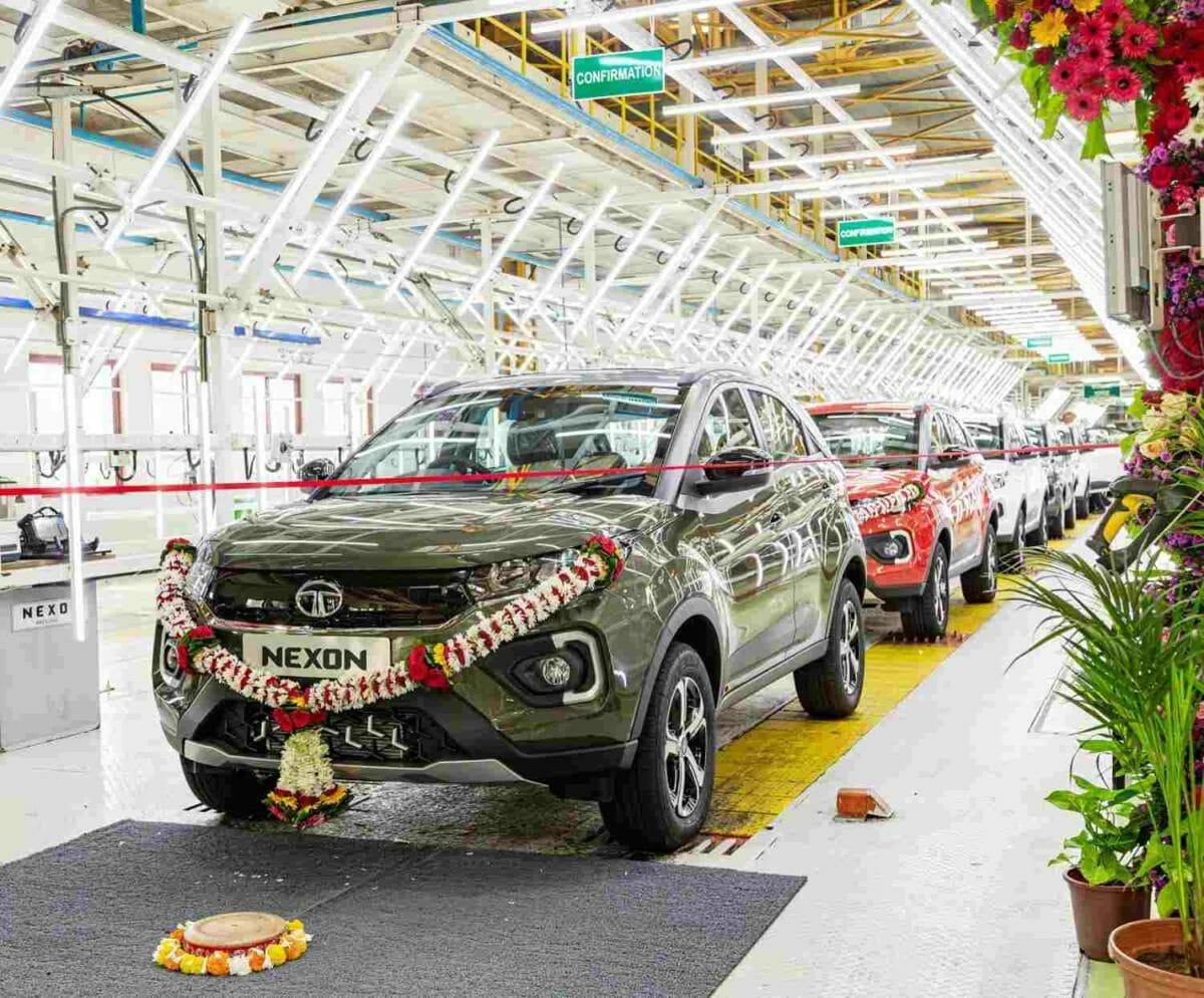 Tata Nexon 2,50,000th unit