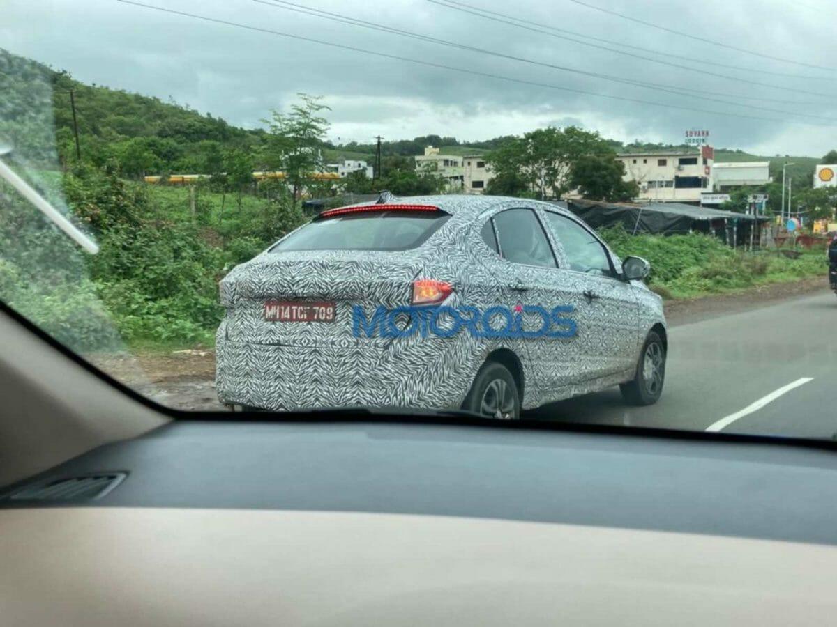 Tata Tigor Turbo Spied (1)