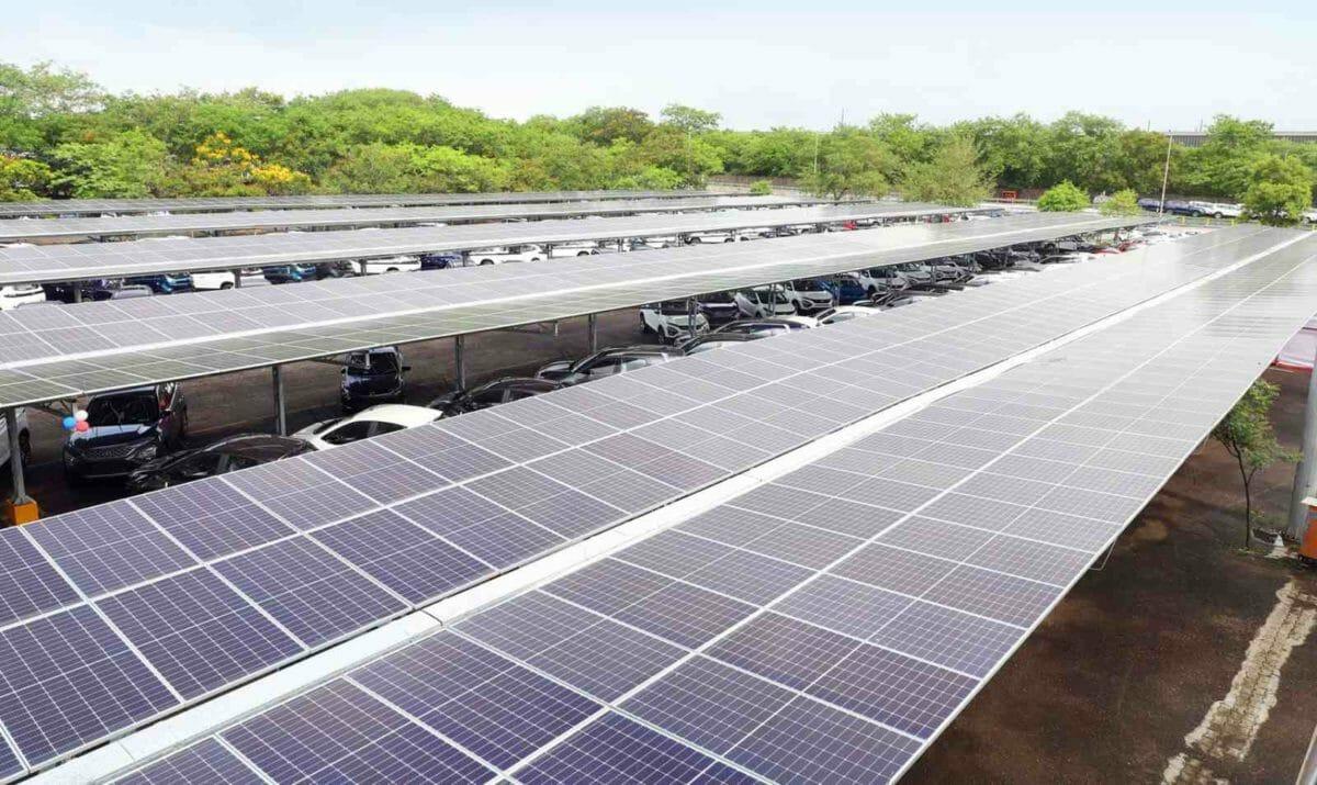 Tata solar carport