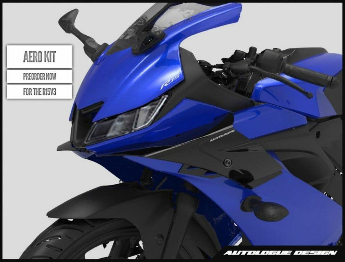 Yamaha R15 V3 Aero kit autologue design