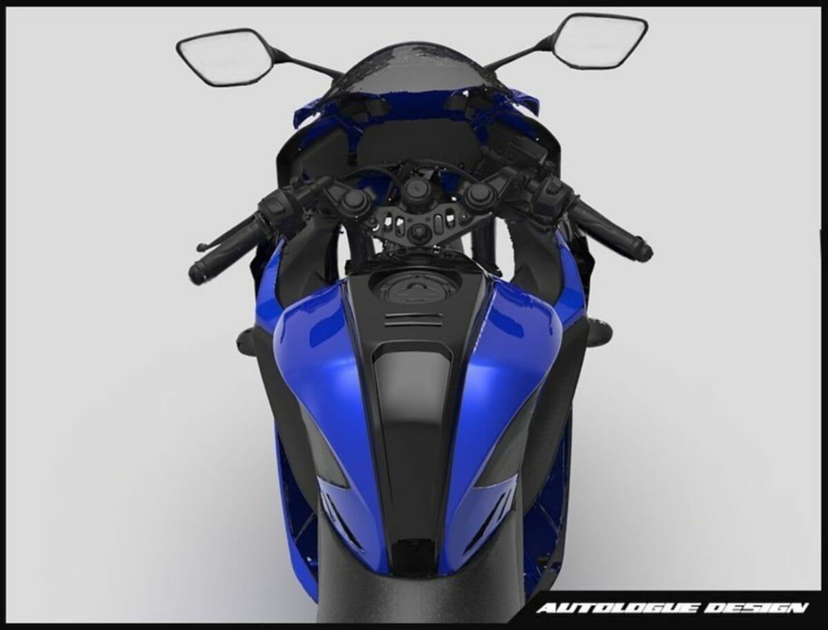 Yamaha R15 V3 Aero kit autologue design (2)
