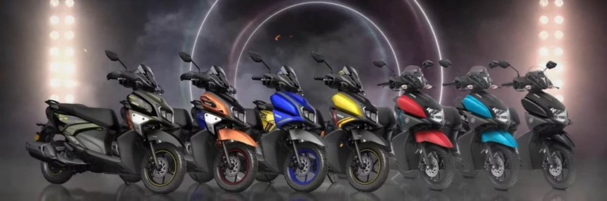 Yamaha Ray ZR 125 Hybrid Colours