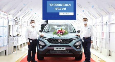 10,000th Safari rolls out