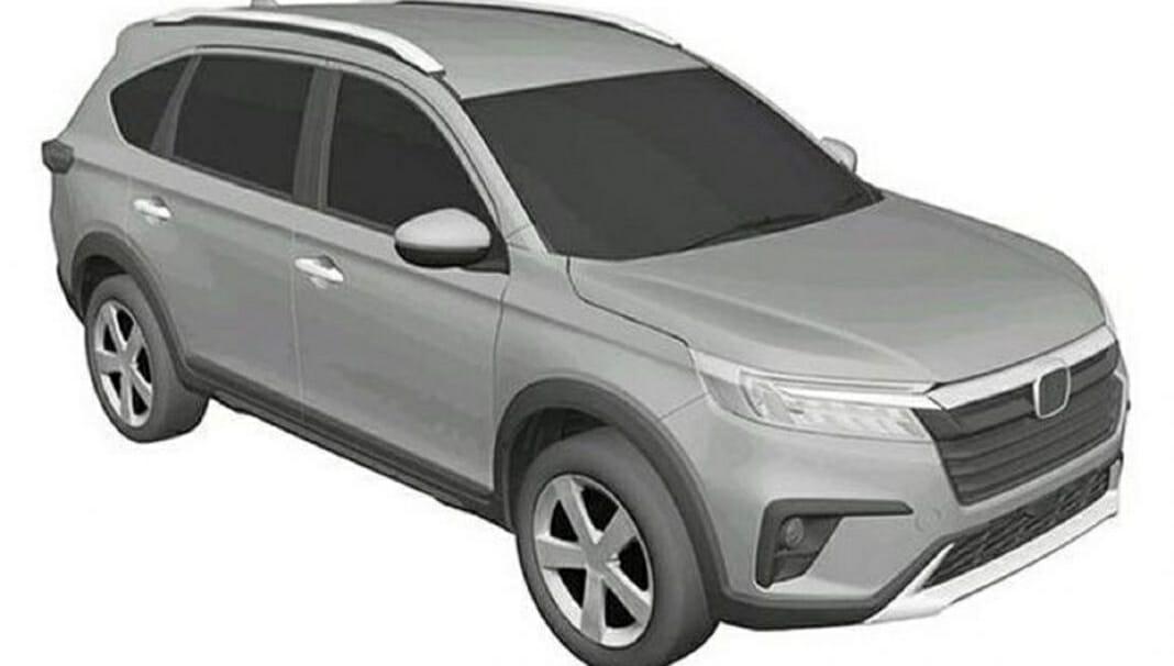 2021 Honda N7X Patent Front
