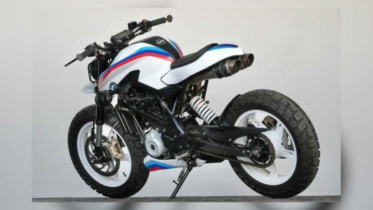 BMW G 310 R K Speed Customs (1)