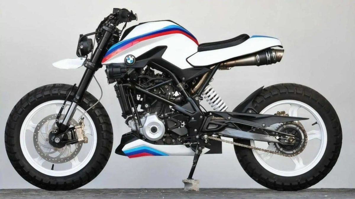 BMW G 310 R K Speed Customs