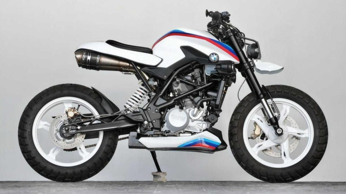 BMW G 310 R K Speed Customs (4)