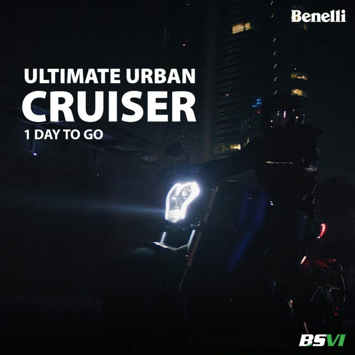 Benelli 502C Cruiser teased