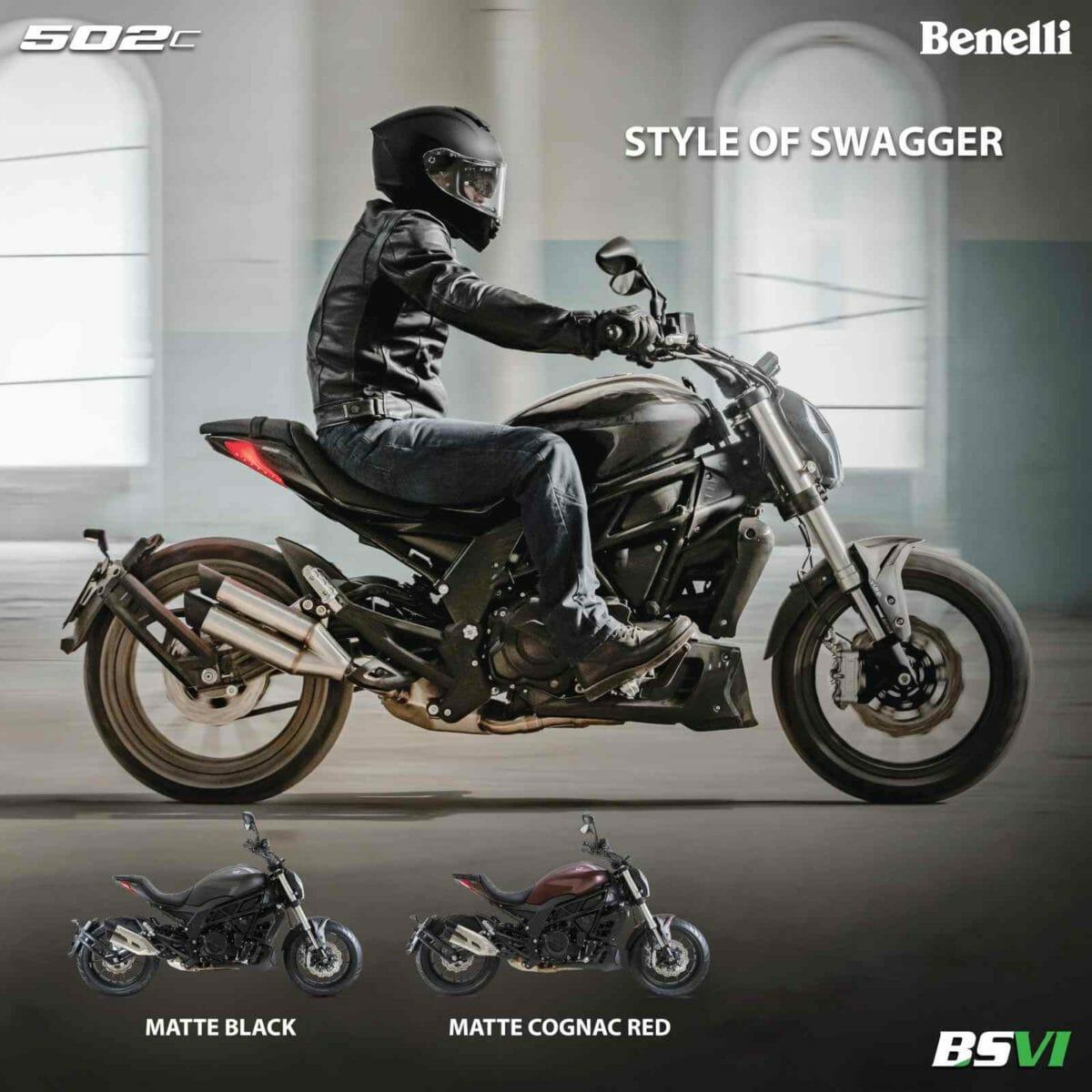 Benelli 502c_Colours