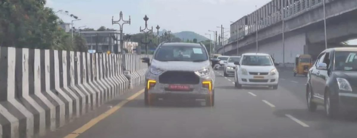 Facelift Ecosport with DRLs 2