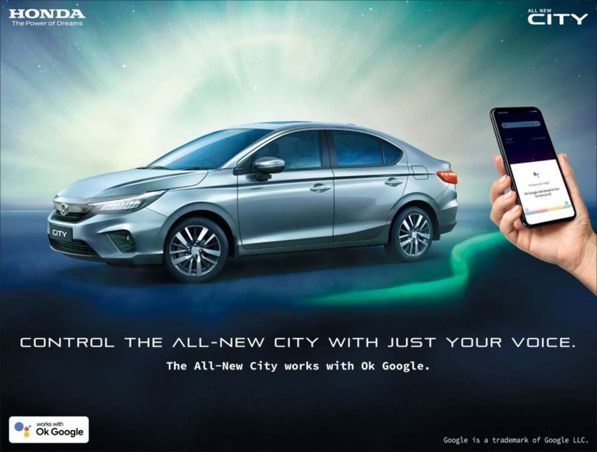 Honda City Google features (2)
