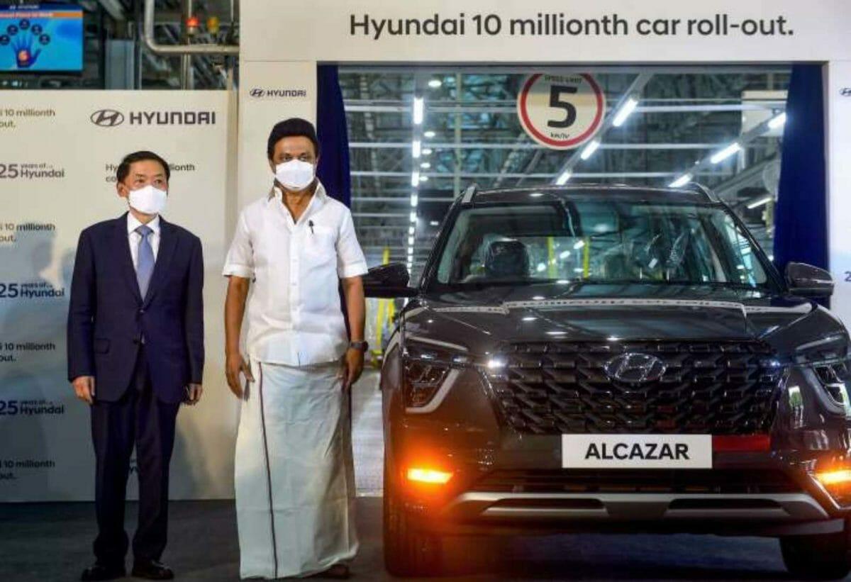 Hyundai Alcazar 10th million