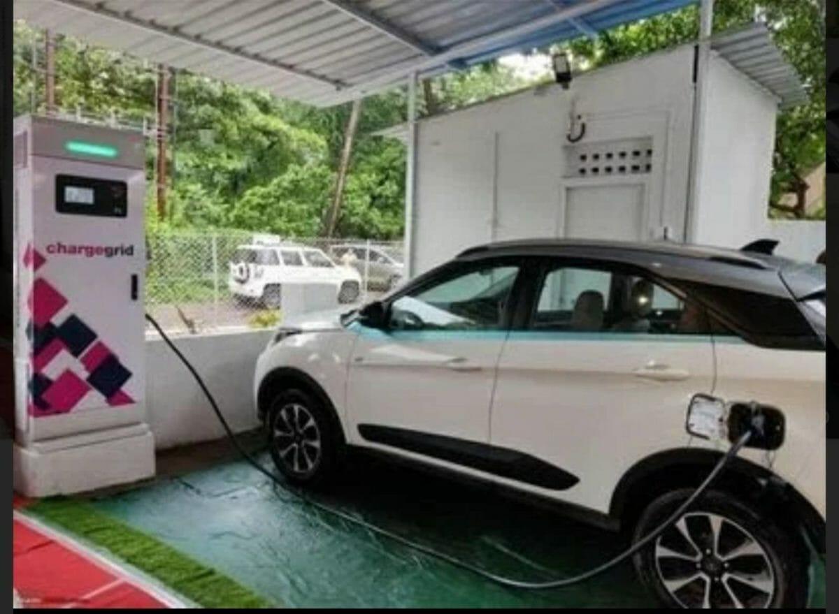 India's largest EV charging station