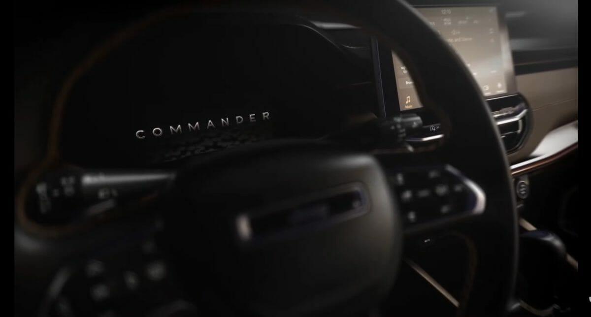 Jeep 7 seater SUV interior teased
