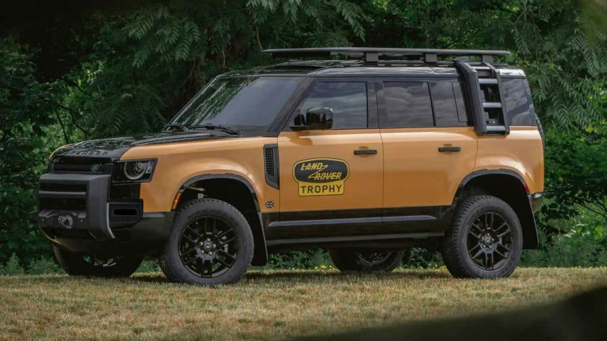 Land Rover Defender Trophy edition