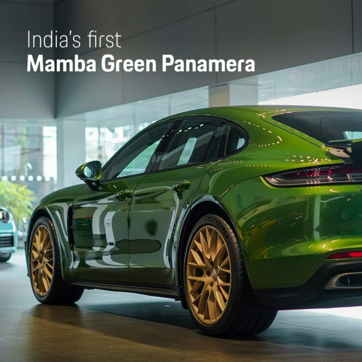 Mamba Green Panamera (1)