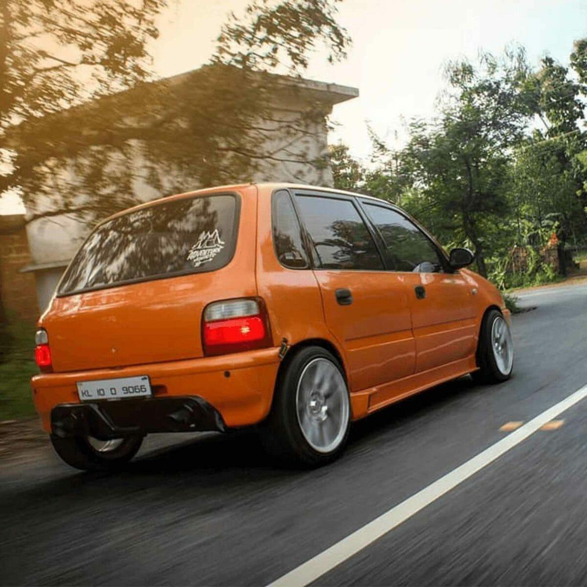 Modified orange zen rear