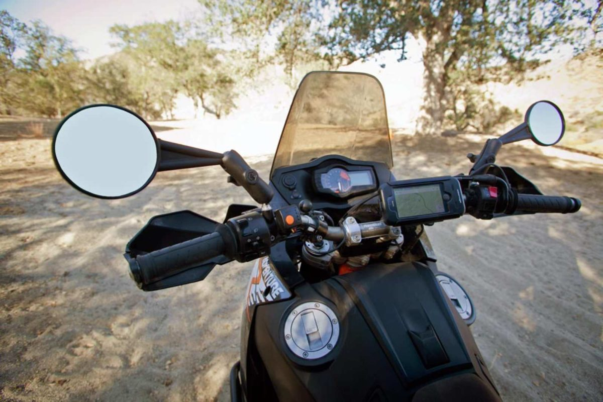 Motorcycle rear view mirrors
