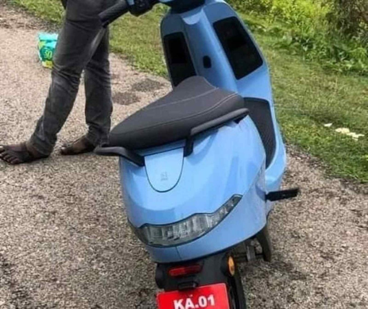 Ola electric scooter spied (3)