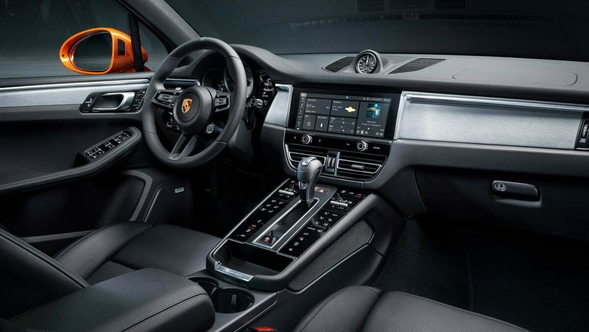 Porsche Macan facelift interior (1)
