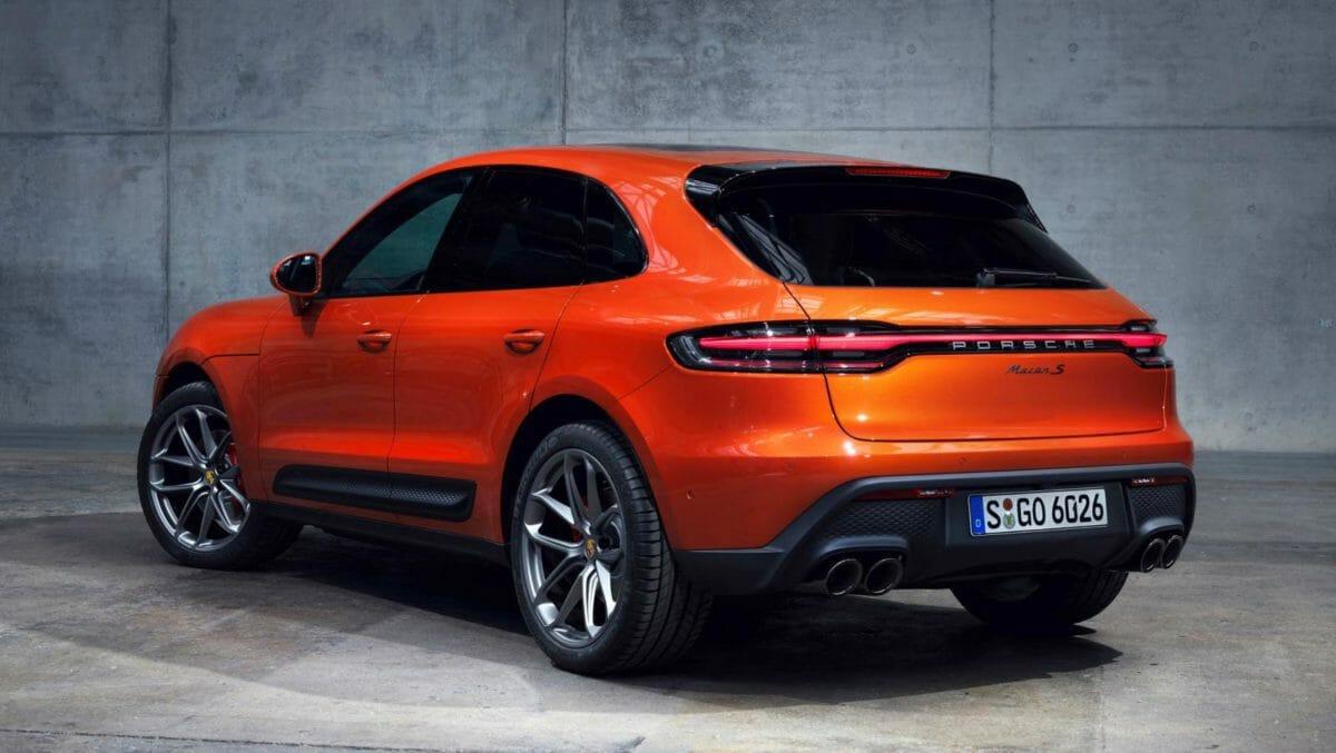 Porsche Macan facelift rear (1)