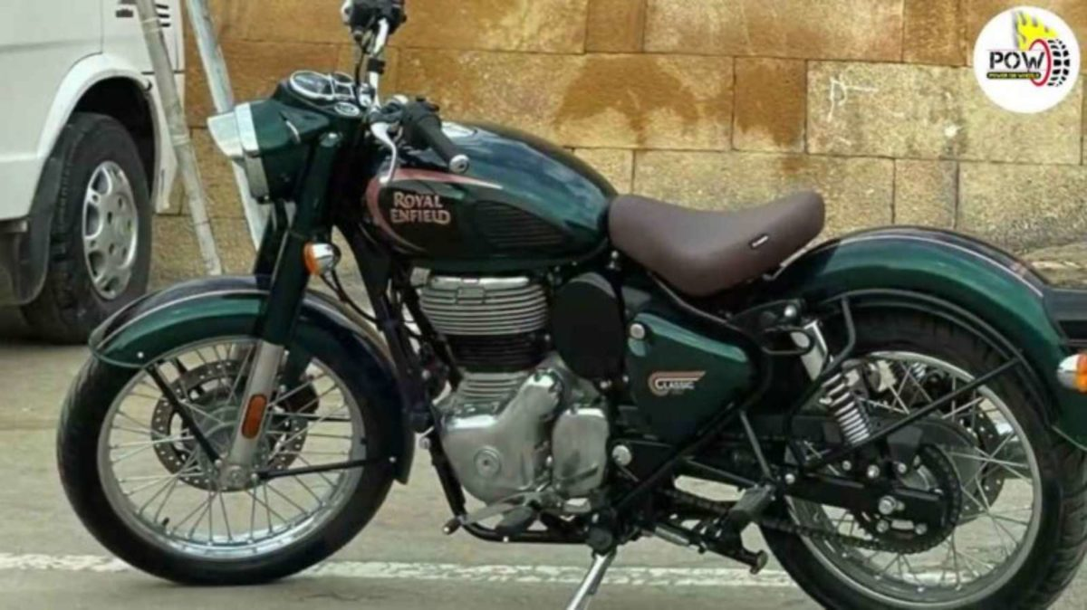 Royal Enfield Classic 350 spied (1)