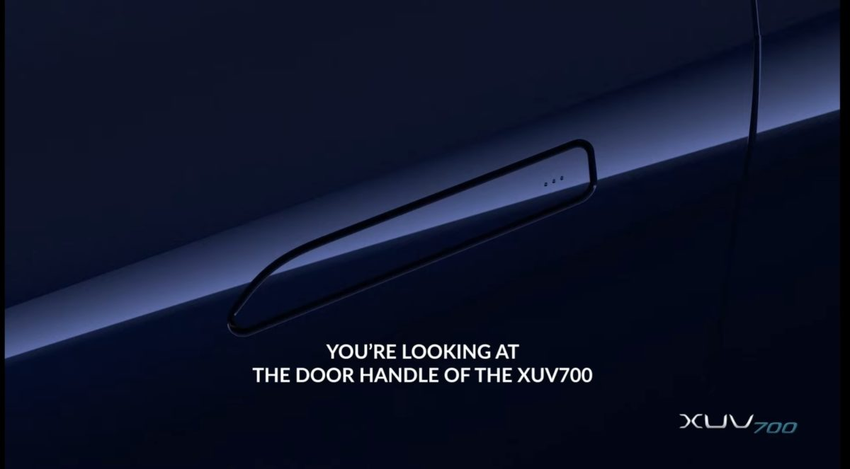 XUV700 smart door handle