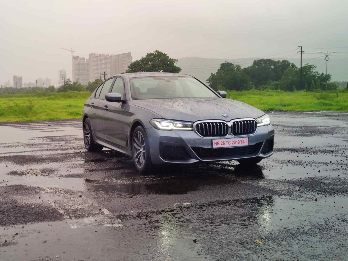bmw 5 series facelift front