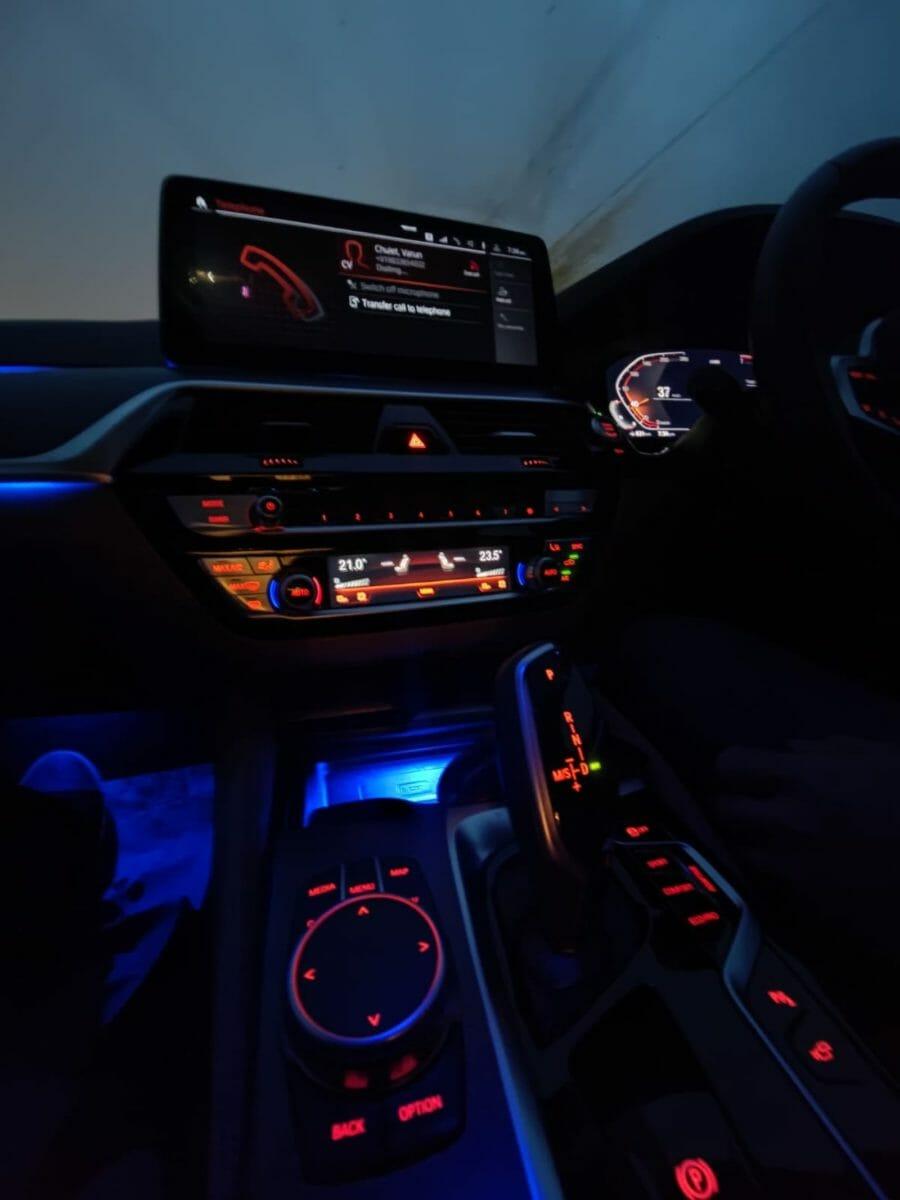 bmw 5 series facelift interior