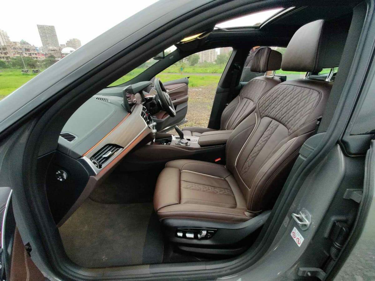 bmw 6 gt interior