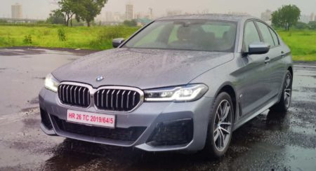 bmw5 series facelift review