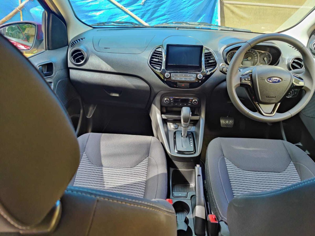 ford figo automatic interior