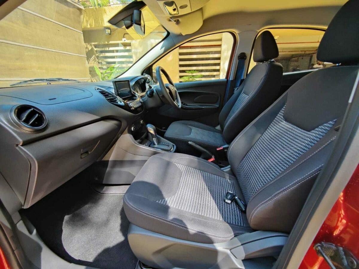 ford figo automatic interior side