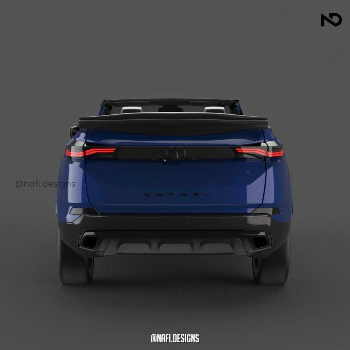 rear safari convertible