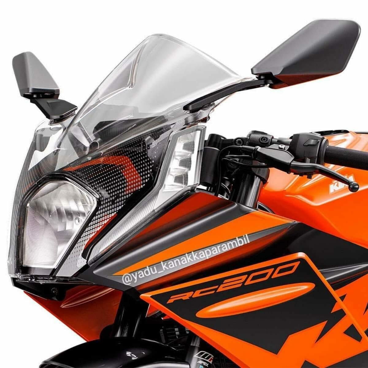 2022 KTM RC 200 Leaked (1)