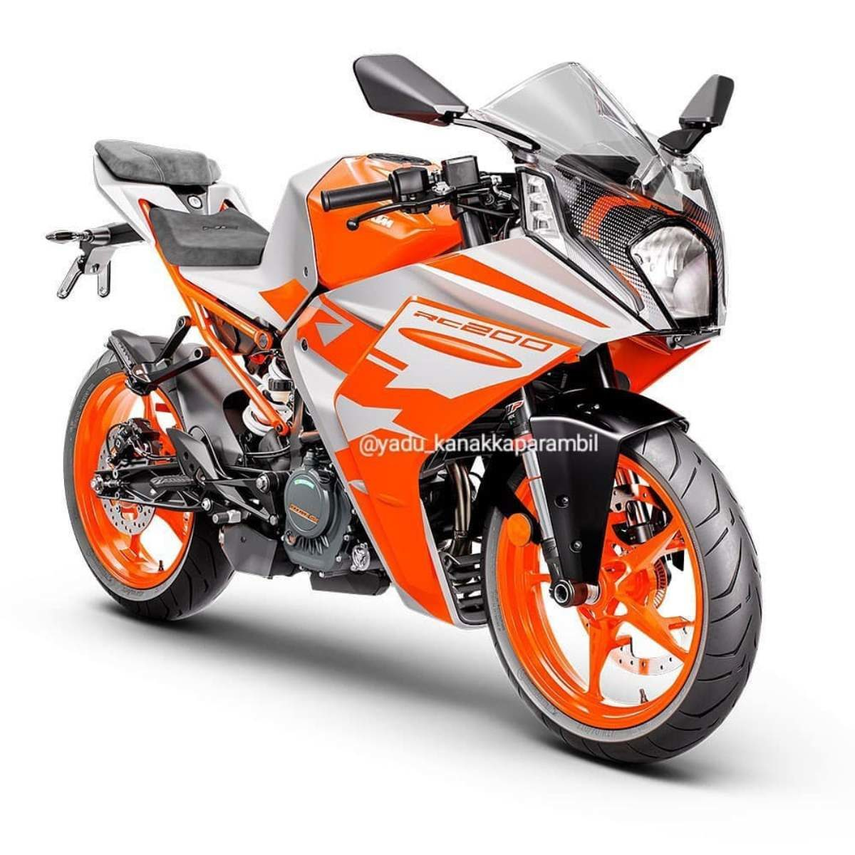 2022 KTM RC 200 Leaked