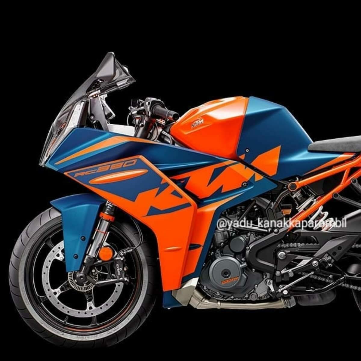2022 KTM RC 390 Leaked (3)