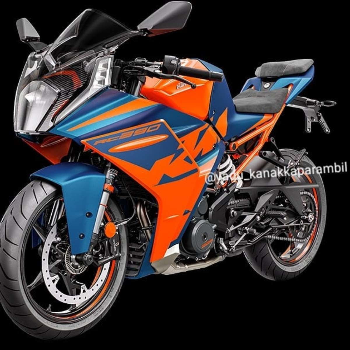2022 KTM RC 390 Leaked (4)