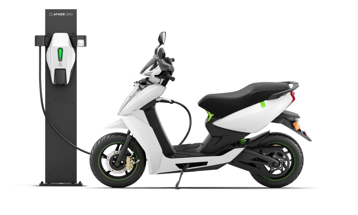 Ather charging pod