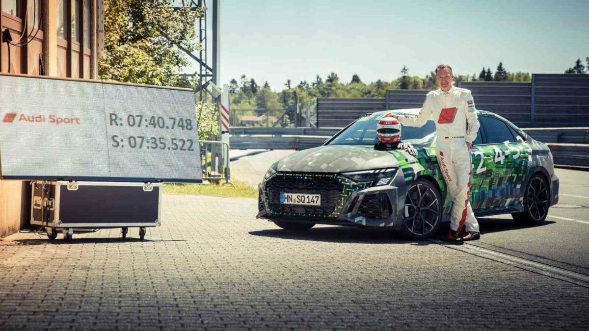 Audi RS3 nurburgring (2)