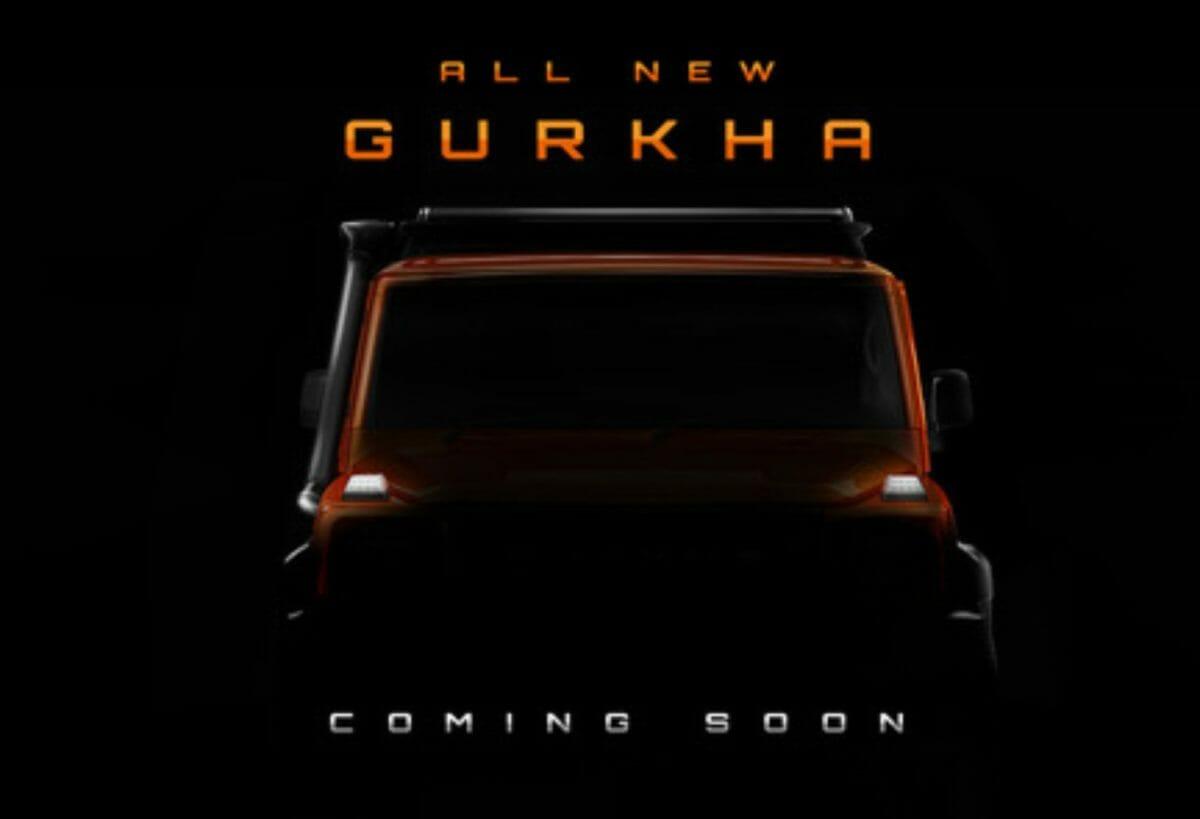 BS6 Force Gurkha teased