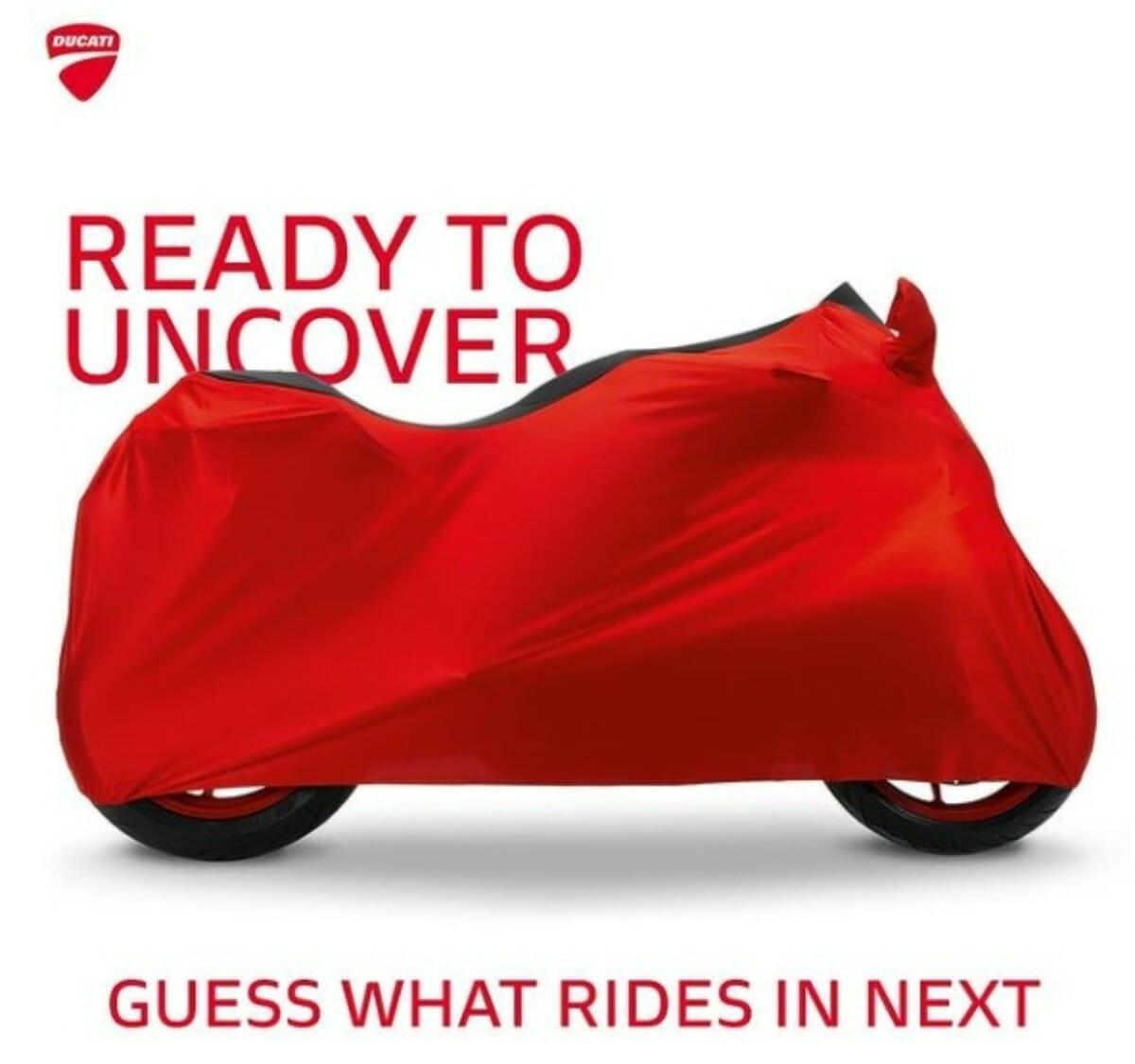 Ducati Supersport teased